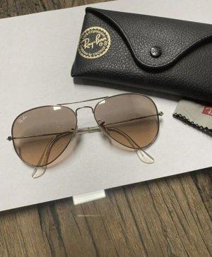 Ray Ban Gafas color plata-color rosa dorado