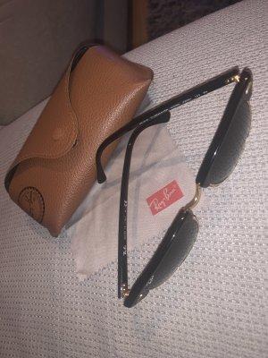 Ray Ban Gafas Retro negro-color oro
