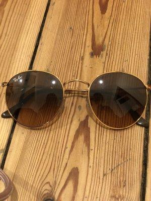 Ray Ban Gafas de sol redondas color bronce