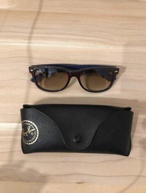 Ray Ban Gafas de sol cuadradas marrón-violeta azulado