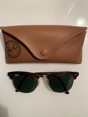 Ray Ban Retro Glasses green grey-brown