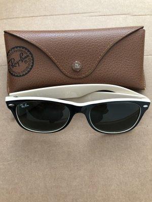 Ray Ban Gafas de sol cuadradas negro-crema