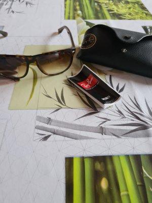 Ray Ban Owalne okulary przeciwsłoneczne brązowy-czarno-brązowy