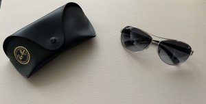Ray Ban Gafas de piloto gris claro-negro