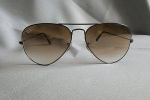 Ray Ban Gafas de sol ovaladas negro-marrón