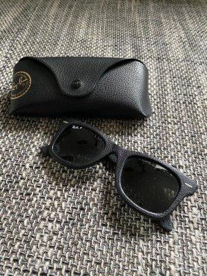Ray Ban Gafas negro Cuero