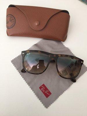 Ray Ban Sonnenbrille, braun mit Etui