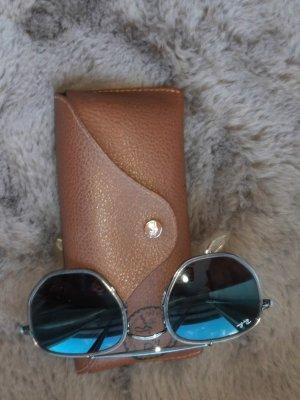 Ray Ban Gafas de sol cuadradas color plata