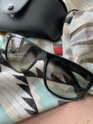Ray Ban Hoekige zonnebril zwart-grijs-bruin
