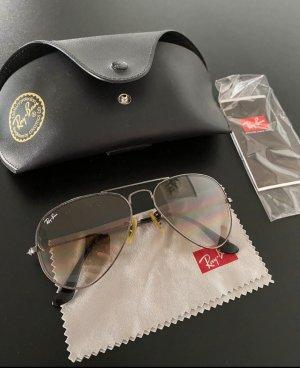 Ray Ban Oval Sunglasses light brown