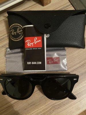 Ray Ban Occhiale da sole spigoloso nero
