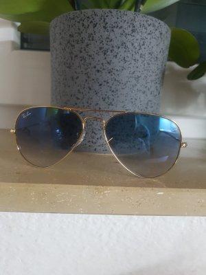 Ray Ban Gafas color oro-azul