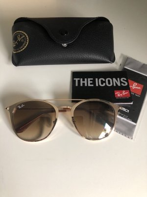 Ray-Ban Sonnenbrille gold icons