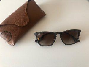 Ray Ban Sonnenbrille matt braun