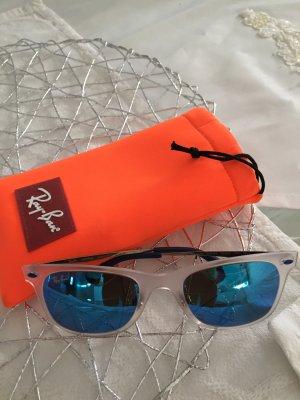 Ray Ban Sonnenbrille mit Titanbügeln und verspiegelten Gläser. (Original )