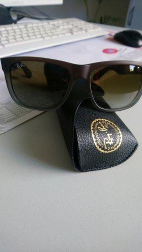 Ray Ban Gafas de sol ovaladas marrón grisáceo