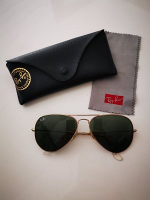 Ray Ban Gafas de piloto color oro