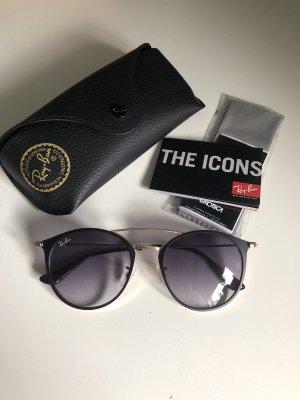 Ray-Ban Sonnenbrille schwarz Gold icons