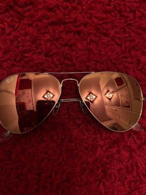 Ray Ban Pilotenbril zilver-roze Glas