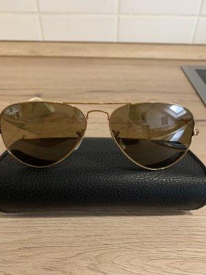 Ray Ban Pilotenbril goud-brons