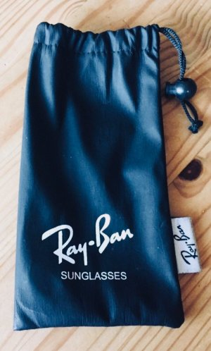 Ray Ban Gafas de sol cuadradas negro-blanco
