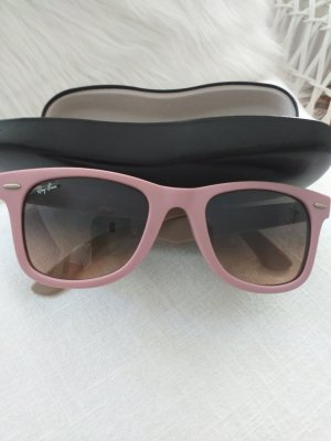 Ray Ban Butterfly Glasses pink-dusky pink mixture fibre