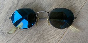 Ray Ban Gafas de sol ovaladas marrón arena metal