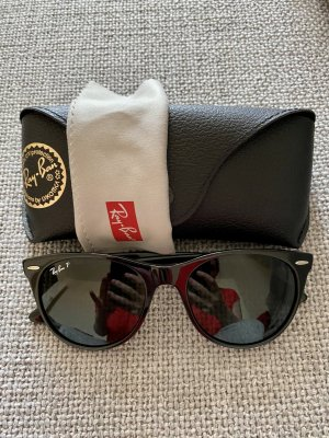 Ray Ban Panto Glasses black acetate