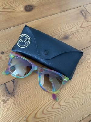 Ray Ban Wayfarer multicolored mit Etui made in Italy bunt