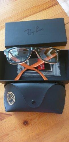 Ray Ban Gafas de sol cuadradas negro-naranja