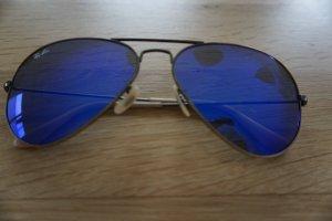 Ray Ban Gafas de piloto azul-violeta grisáceo