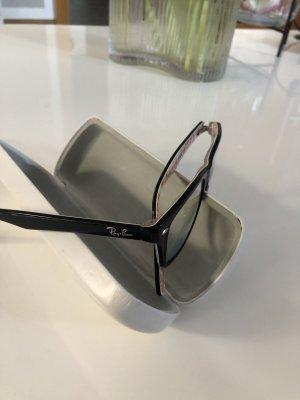 Rayban Gafas negro-blanco