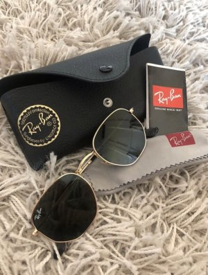 Rayban Glasses dark green-gold-colored