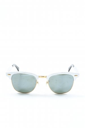 Rayban Ovale zonnebril lichtgrijs casual uitstraling