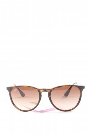 Rayban Panto bril brons-licht Oranje casual uitstraling