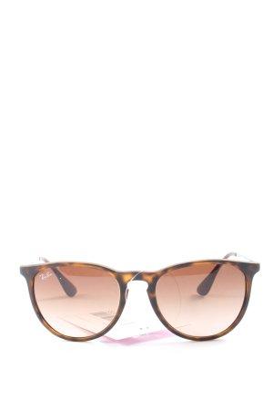 Rayban Gafas panto color bronce-naranja claro