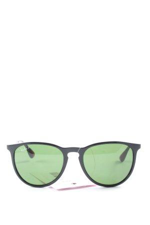 Rayban Panto Glasses green casual look