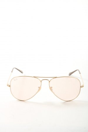 Rayban Aviator Glasses gold-colored casual look