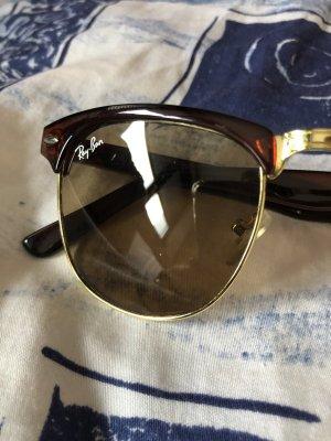 Rayban Ray Ban Sonnenbrille braun Gold