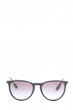 Rayban Square Glasses black casual look