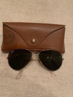 Rayban Pilotenbril goud