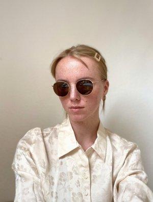 Rayban Okulary retro piaskowy brąz-brąz