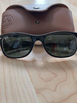 Rayban Gafas de sol redondas negro-beige claro