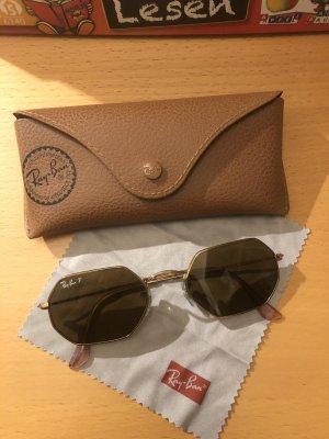 Ray Ban Gafas de sol cuadradas marrón-marrón arena