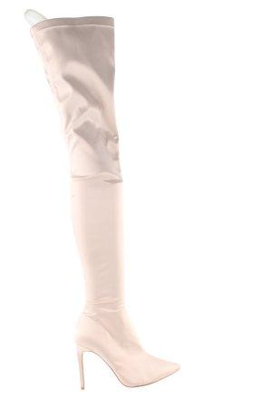Raye Overknees creme Elegant