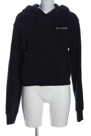 RE / DONE Kapuzensweatshirt schwarz Casual-Look