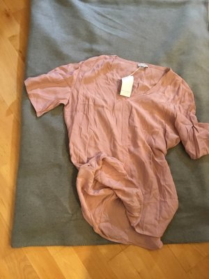 re.draft Bluse Crash Rose Brown Damen L 40 2.Wahl