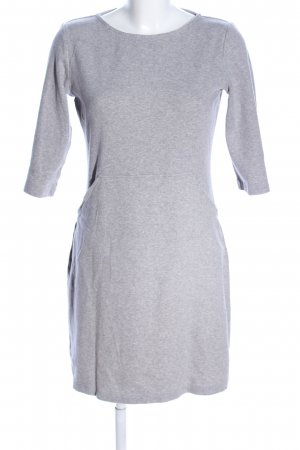 re.draft Sweater Dress light grey flecked business style