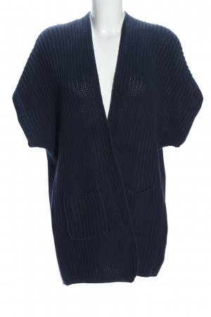 re.draft Strick Cardigan blau Casual-Look