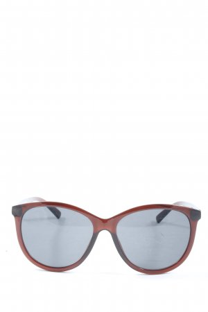 Reaction Square Glasses brown-black casual look